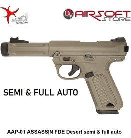 Action Army AAP-01 ASSASSIN FDE Desert semi & full auto