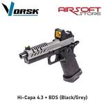 Vorsk Hi-Capa 4.3 + BDS (Black/Grey)
