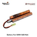 Lancer Tactical Battery 9.6v NIMH 1600 Mah