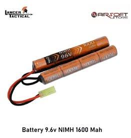 Lancer Tactical Battery 9.6v NIMH 1600 Mah