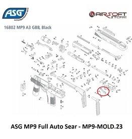 ASG MP9 Full Auto Sear - MP9-MOLD.23 - part 153
