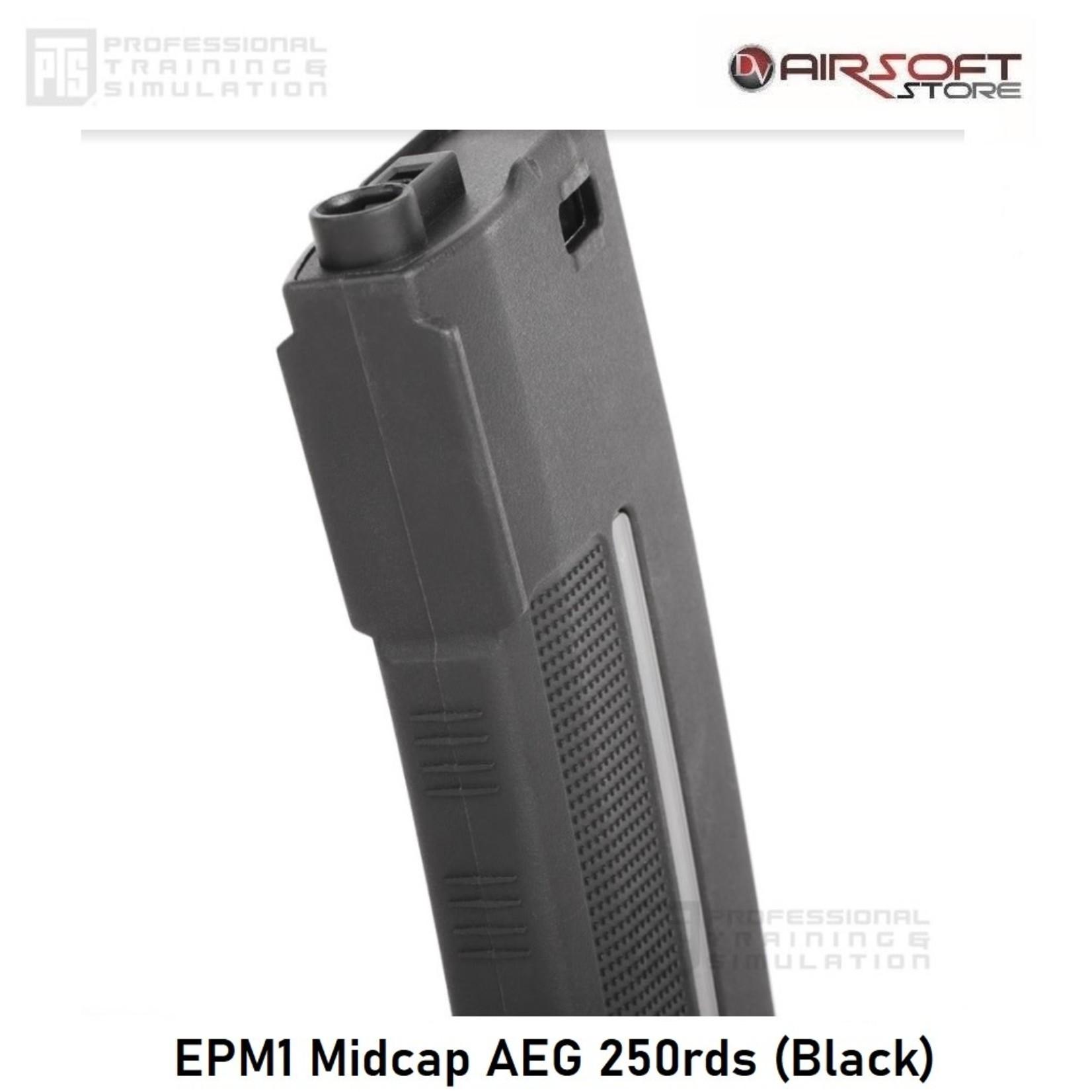 PTS EPM1 Midcap AEG 250rds (Black)
