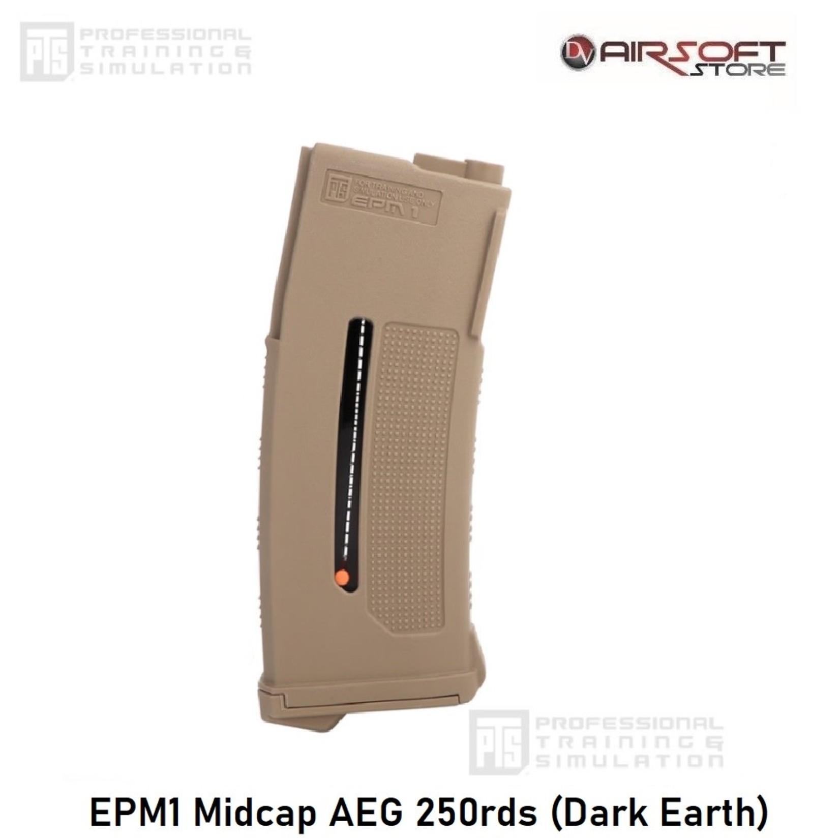 PTS EPM1 Midcap AEG 250rds (Dark Earth)