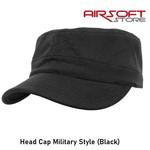 Brandit Head Cap Military Style (Black)