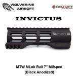 "Wolverine MTW Handguard INVICTUS M-Lok 7"" Milspec (Black Anodized)"