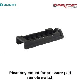 Olight Picatinny mount for pressure pad remote switch