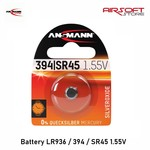 Ansmann Battery LR936 / 394 / SR45 1.55V