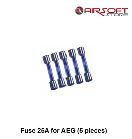 Fuse 25A for AEG (5 pieces)