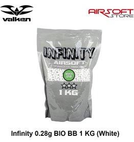 VALKEN Infinity 0.28g BIO BB 1 KG (White)