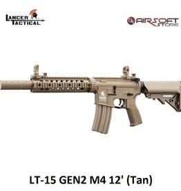 Lancer Tactical LT-15 GEN2 M4 12' (Tan)