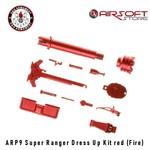 G&G ARP9 Super Ranger Dress Up Kit red (Fire)