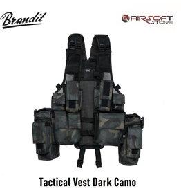 Brandit Tactical Vest Dark Camo