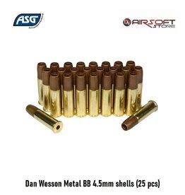 ASG Dan Wesson Metal BB 4.5mm shells (25 pcs)