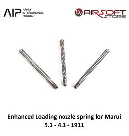 AIP 120 % Enhanced Loading nozzle spring for Marui 5.1-4.3-1911