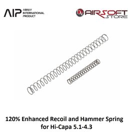 AIP 120% Enhanced Recoil and Hammer Spring for Hi-Capa 5.1-4.3