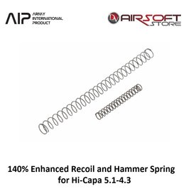 AIP 140% Enhanced Recoil and Hammer Spring for Hi-Capa 5.1-4.3