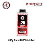G&G 0.25g Tracer BB 2700rds Red