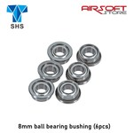 SHS 8mm ball bearing bushing (6pcs)