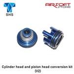 SHS Cylinder head and piston head conversion kit (V2)