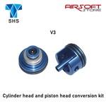 SHS Cylinder head and piston head conversion kit (V3)