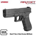Glock Glock 17 Gen 4 Metal Version GBB Black