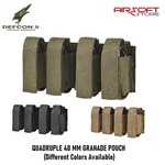 DEFCON 5 QUADRUPLE 40 MM GRANADE POUCH
