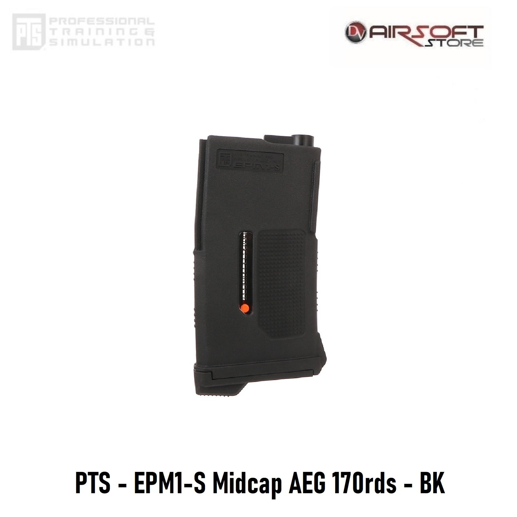 PTS PTS - EPM1-S Midcap AEG 170rds - BK