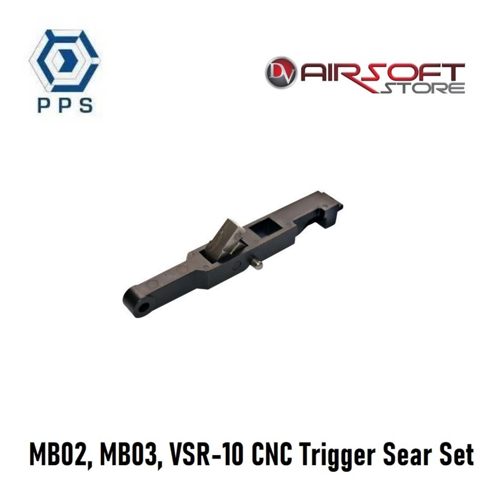 pps MB02, MB03, VSR-10 CNC Trigger Sear Set