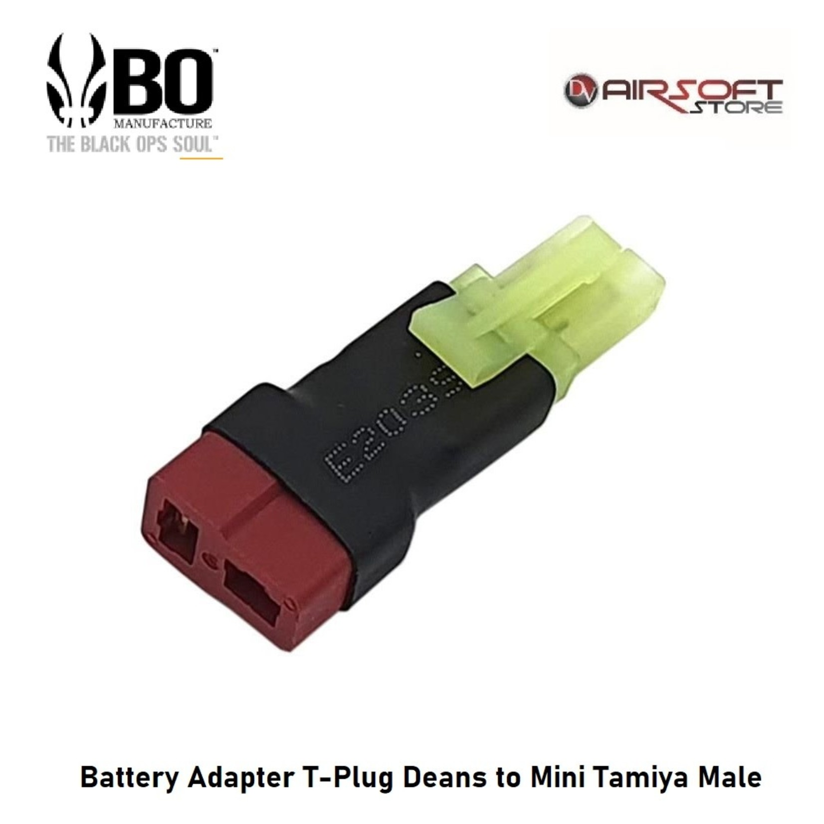 BO Battery Adapter T-Plug Deans to Mini Tamiya Male