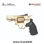 Dan Wesson Revolver 2.5 inch Gold CO2