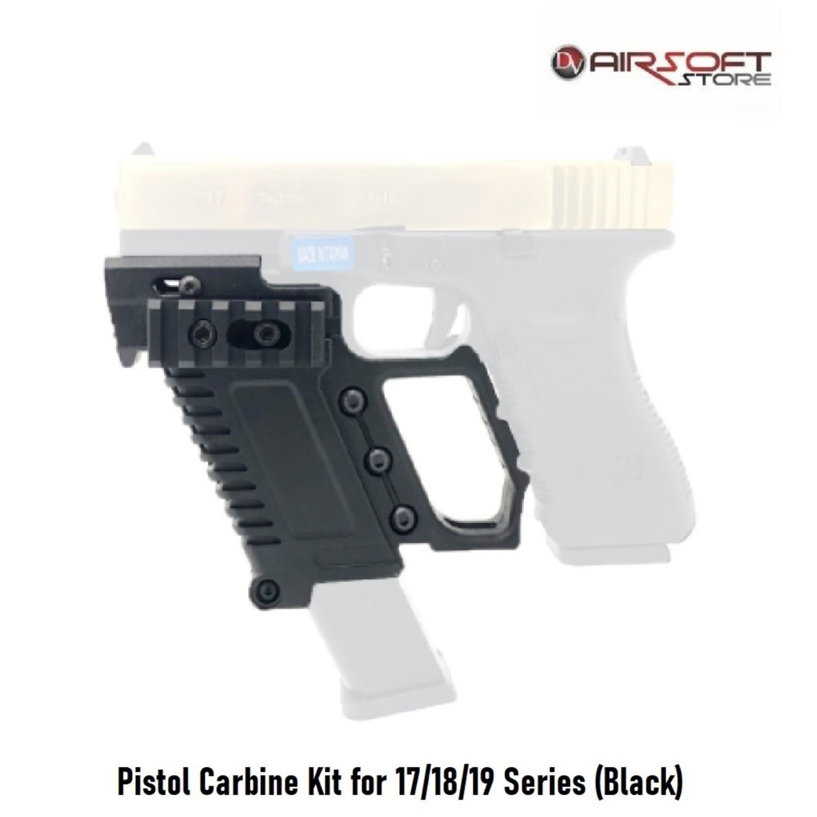 Pistol Carbine Kit for 17/18/19 Series (Black)