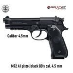 Beretta M92 A1 pistol black BB's cal. 4.5 mm