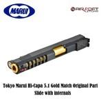 Tokyo Marui Hi-Capa 5.1 Gold Match Original Part Slide with internals