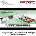 Airsoft Masterpiece Infinity Formula VER.2 Standard Slide For TM HI-CAPA/1911