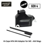 Primary Airsoft Hi-Capa HPA M4 Adapter for WE - AW Mags GEN 4
