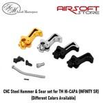 Airsoft Masterpiece CNC Steel Hammer & Sear set for TM HI-CAPA (INF SR)