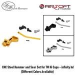Airsoft Masterpiece CNC Steel Hammer & Sear Set for TM Hi Capa - Infinity HD