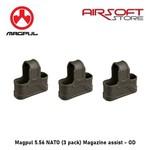 Magpul Magpul 5.56 NATO (3 pack) Magazine assist - OD