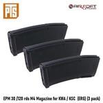 PTS EPM 30 /120 rds M4 Magazine for KWA / KSC  (ERG) (3 pack)