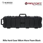 Nimrod Rifle Hard Case 100cm Wave Foam Black