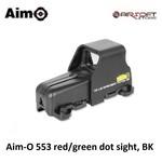 Aim-O 553 red/green dot sight - BK
