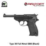 WE (Wei Tech) Type 38 Full Metal GBB (Black)