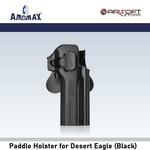 Amomax Paddle Holster for Desert Eagle (Black)