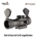 Lancer Tactical Red & Green dot 2x42 magnification