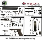 WE (Wei Tech) WE17-18c part G-66 Magazine spring guide