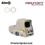 Aim-O 551 Red Dot Sight (Dark Earth)