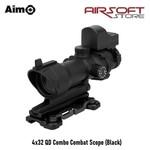 Aim-O 4x32 QD Combo Combat Scope (Black)
