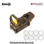 Aim-O Multi Reticle Red Dot (Dark Earth)