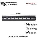 Wolverine MTW MLOK RAIL 13 inch Milspec