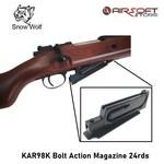 Snow Wolf KAR98K Bolt Action Magazine 24rds